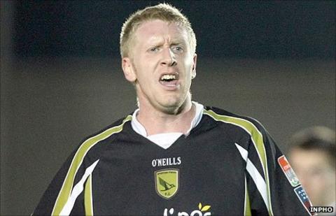 Central defender Philip Byrne