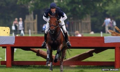 William Fox-Pitt on Cool Mountain