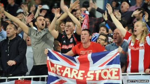 Stoke City have taken sizeable followings to all five of their Europa League away ties