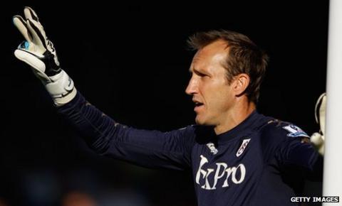 Fulham's Mark Schwarzer
