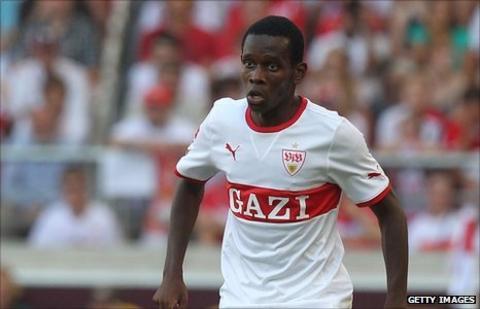 Guinea's Ibrahima Traore