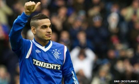 Rangers midfielder Mervan Celik