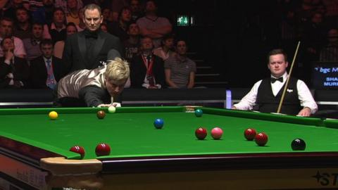 Neil Robertson in action