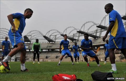 Gabon's footballers