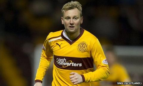 Stephen Hughes has played four games for Motherwell this season