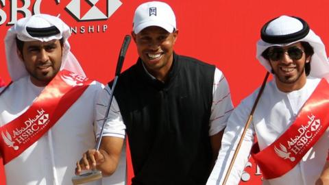 Tiger Woods set to play in the HSBC Abu Dhabi Championship