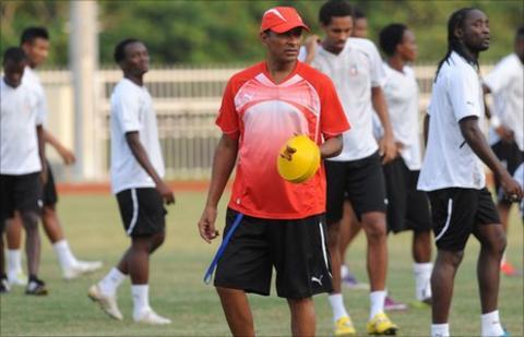 Equatorial Guinea coach Gilson Paulo