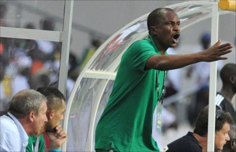Niger coach Harouna Doula