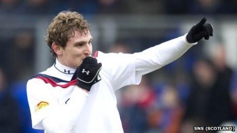 Rangers striker Nikica Jelavic