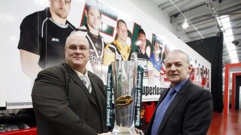 Stobart to sponsor Super League