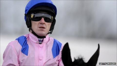 Tony McCoy finished second on Key to the West at Warwick