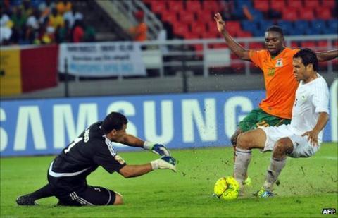 Libya goalkeeper Samir Aboud hopes to see Libya in the quarter-finals before hanging his gloves