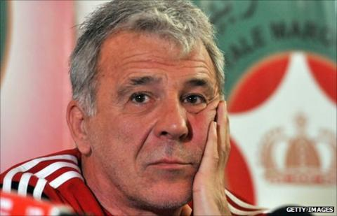 Morocco's Belgian coach Gerets says he will not resign after his teams early Africa Nations Cup exit