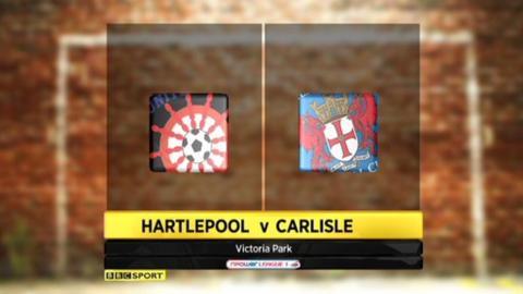 Hartlepool 4-0 Carlisle