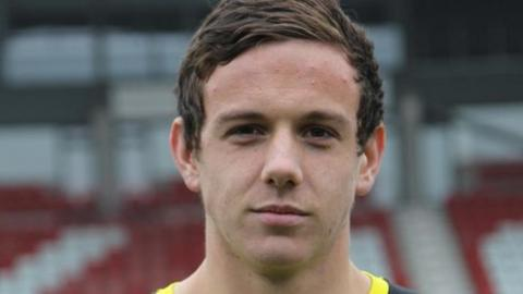 Danny Ward (picture courtesy of Wrexham Football Club)