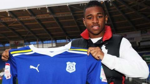 Kadeem Harris (photo courtesy of Pete Thomas/Cardiff City FC)