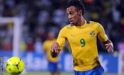 Gabon striker Pierre Aubameyang