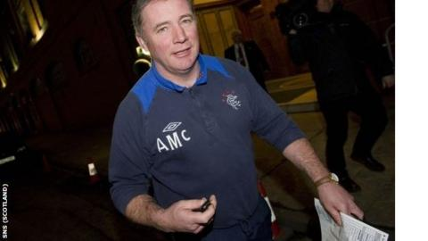 McCoist was unable to replace Nikica Jelavic before the transfer window closed