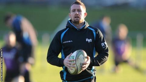 Shane Williams' Ospreys future could be on the training field