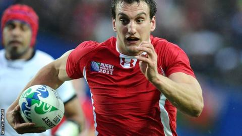 Wales Captain Sam Warburton