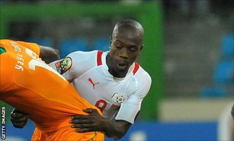 Burkina Faso defender Mahamadou Kere