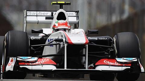 Sauber F1 car