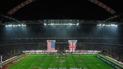 NFL at Wembley Stadium