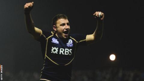 Scotland A's Duncan Weir