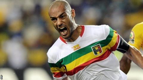 Mali captain Cedric Kante