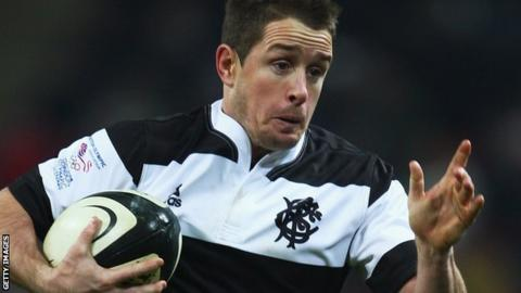 Shane Williams has played once for the Barbarians against Australia in December 2008