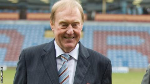 Barry Kilby to stand down as Burnley chairman