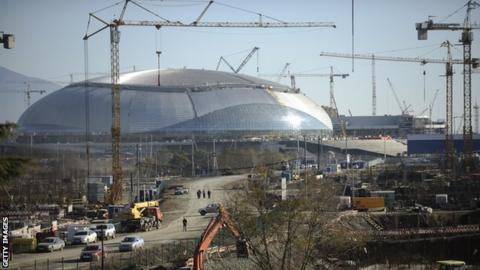 Bolshoi Ice Palace in Sochi