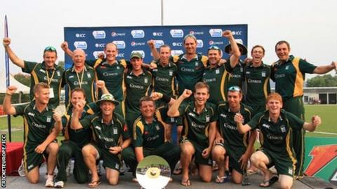 Guernsey's WCL Division Six winning team