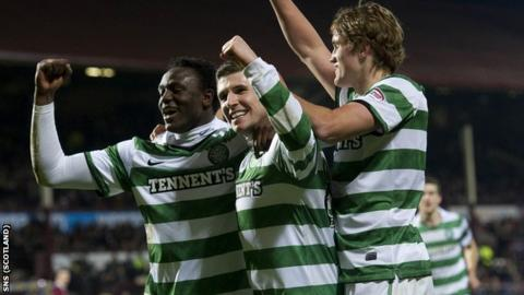 Celtic were 4-0 winners at Tynecastle