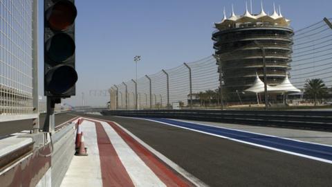 Bahrain Grand Prix track