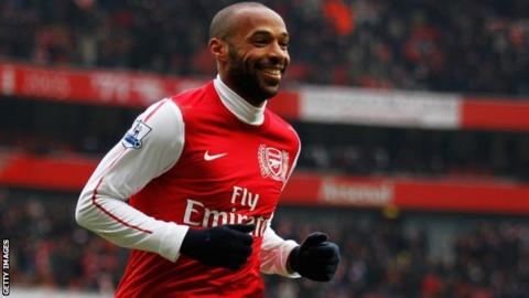 Thierry_Henry of Arsenal