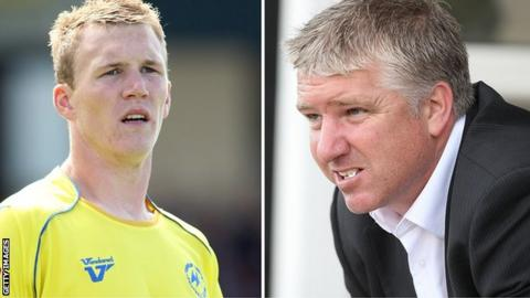 Mark Ellis (left) and Martin Ling