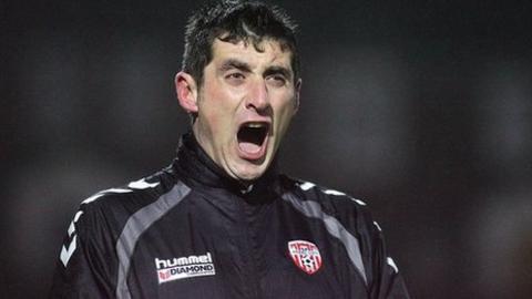 Derry boss Declan Devine