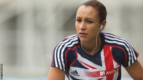 Great Britain heptathlete Jessica Ennis