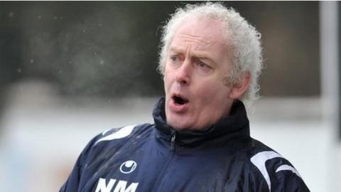 Coagh joint-manager Noel Mitchell