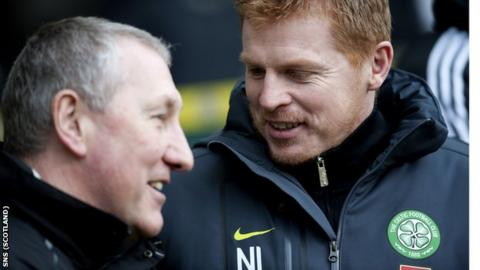 Inverness manager Terry Butcher and Celtic counterpart Neil Lennon
