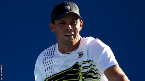 Mike Bryan at the Australian Open