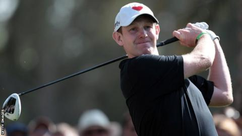 Gallacher came within a putt of forcing a playoff at the 18th