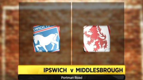 Ipswich v Middlesbrough