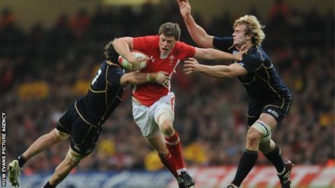 Wales' Rhys Priestland