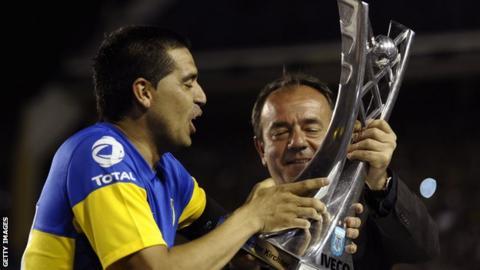 Boca Juniors are the current Primera División champions