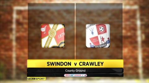 Swindon 3-0 Crawley