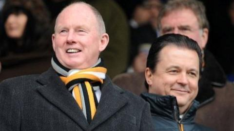 Steve Morgan and Jez Moxey