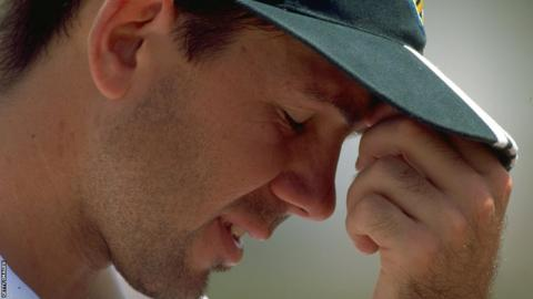 Ricky Ponting in 1999