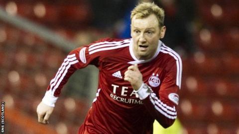 Aberdeen midfielder Stephen Hughes